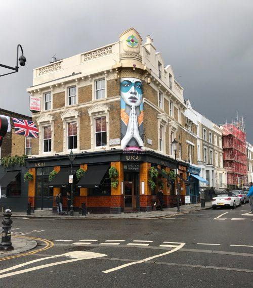 London Trip Day 1: Juice Bar Adventure